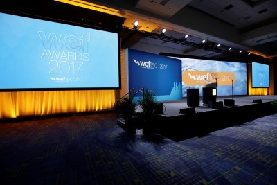 WEFTEC 2017 Ceremony