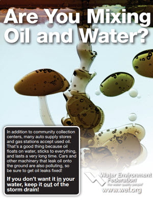 Are you mixing oil and water ad image