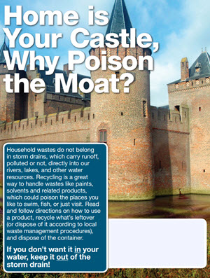 Home Is You Castle, Why Poison the Moat ad image